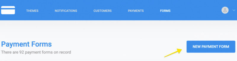 New recurring payment form