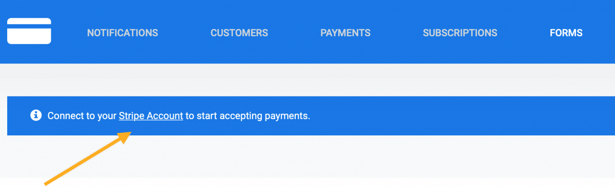 Collecting Stipe payments