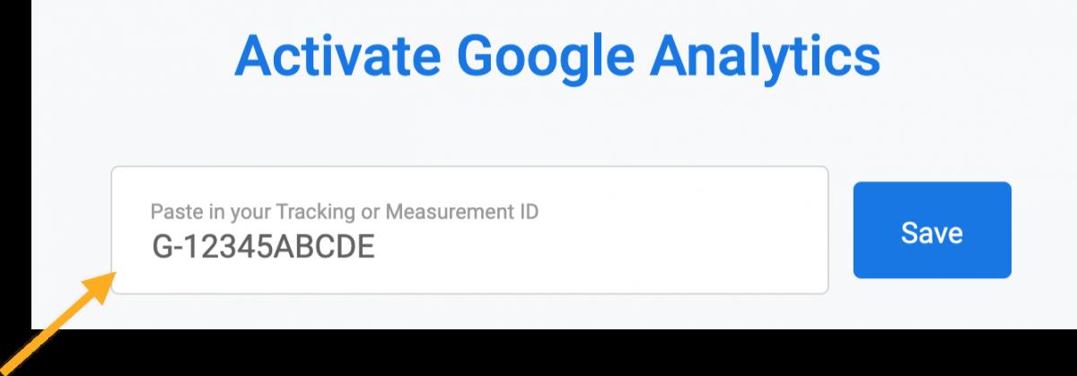 Stripe Google Analytics